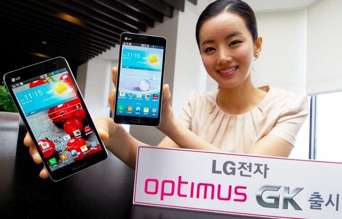 LG Optimus GK (fot. phonearena.com)