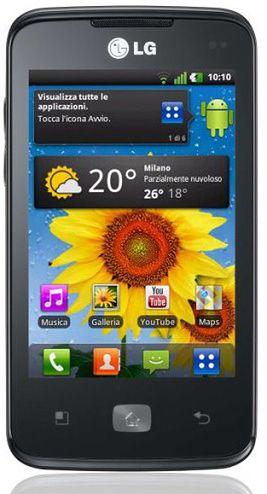 LG Optimus Hub (fot. Pocket Now)