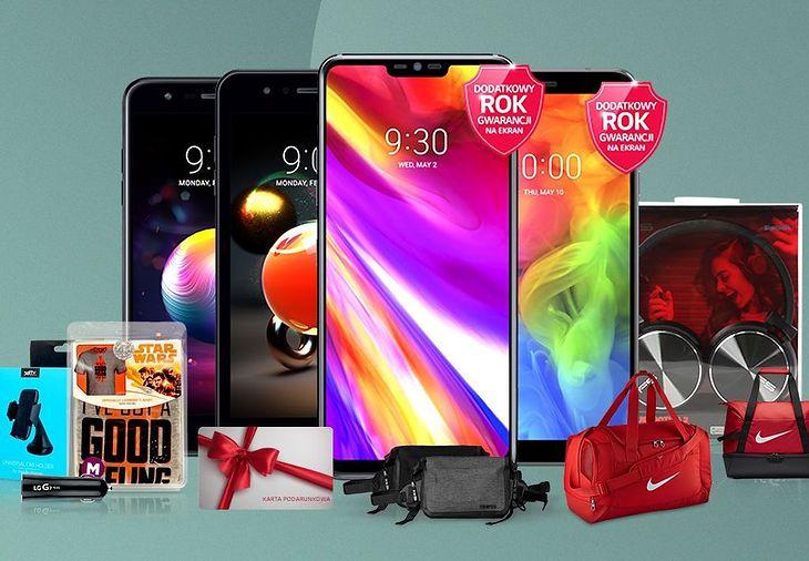 Firma LG przygotowała promocje na kluczowe modele z oferty