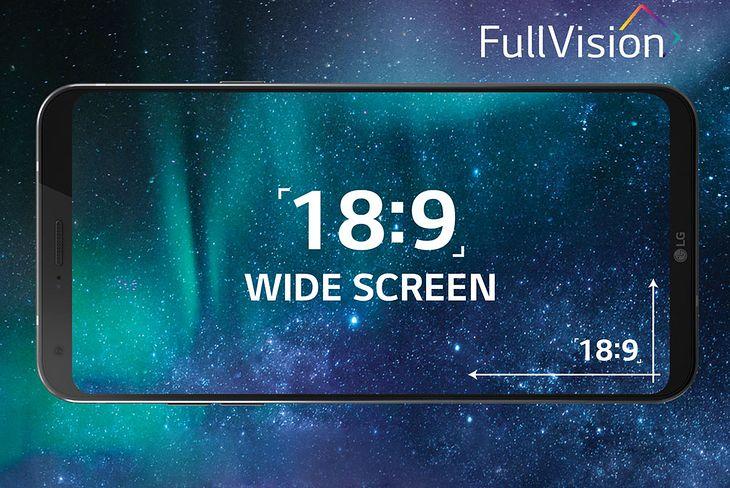 LG Q6 ma ekran o proporcjach 18:9