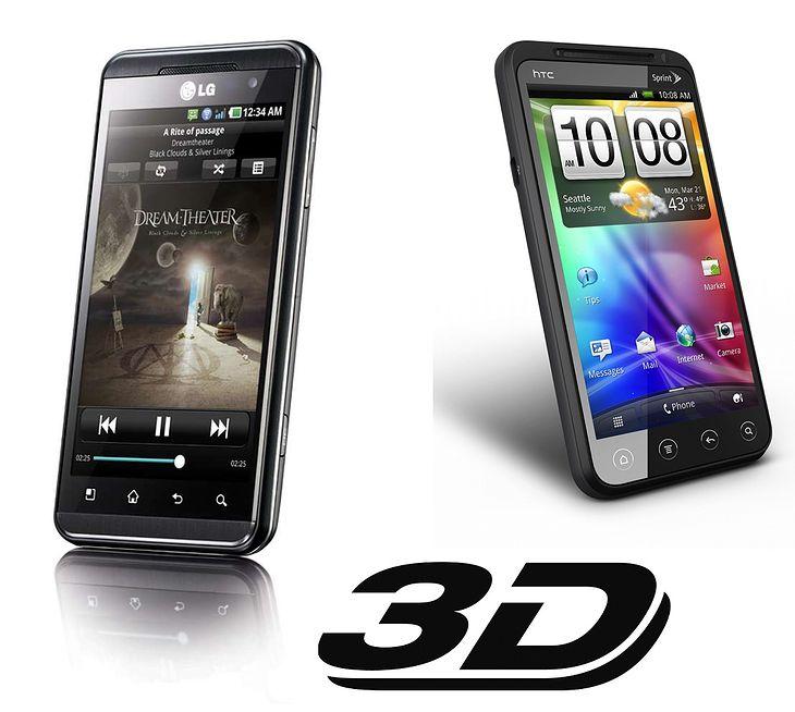 LG Swift 3D i HTC EVO 3D