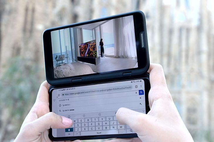 LG V50 ThinQ 5G z LG Dual Screen