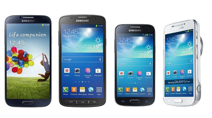 Linia Samsung Galaxy S4