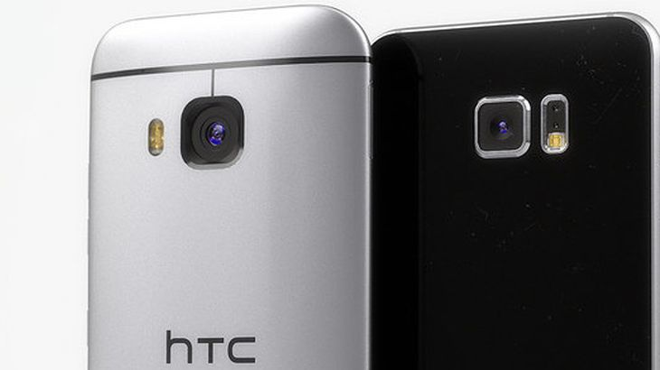 HTC One M9 i Galaxy S6 - rendery Martina Hajeka