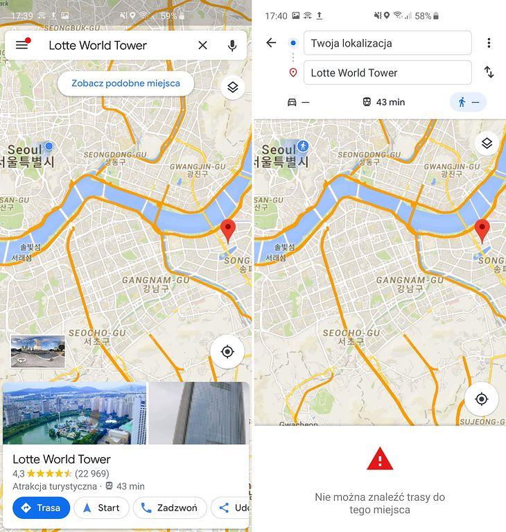 Dziwny Przypadek Map Google W Korei Poludniowej W Zadnym Innym