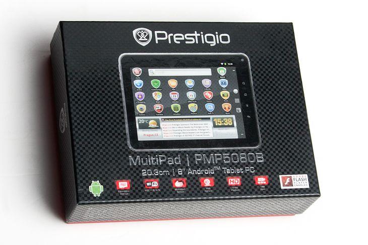 Prestigio Multipad PMP5080B - opakowanie