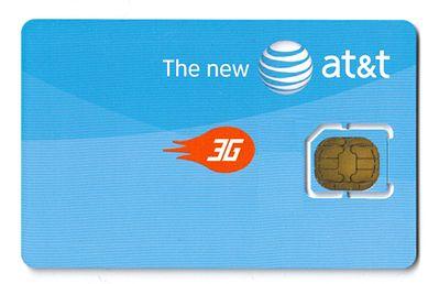 Karta Micro SIM z amerykańskiej sieci AT&T