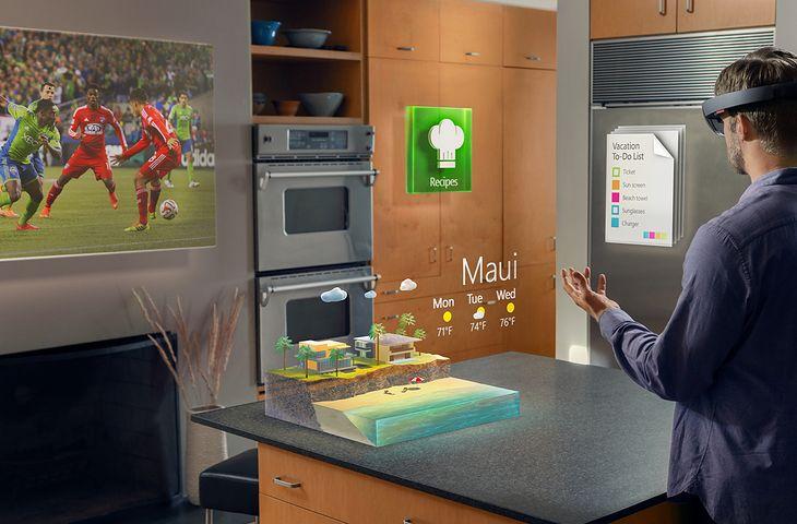 Apple pracuje nad konkurencją dla gogli HoloLens Microsoftu