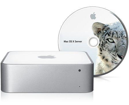 Rodzina Mac Mini odświeżona + Mini Server
