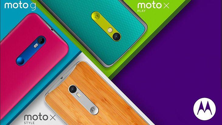Moto G, Moto X Play i Moto X Style