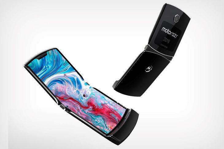Motorola RAZR: wizualizacja bazująca na przeciekach