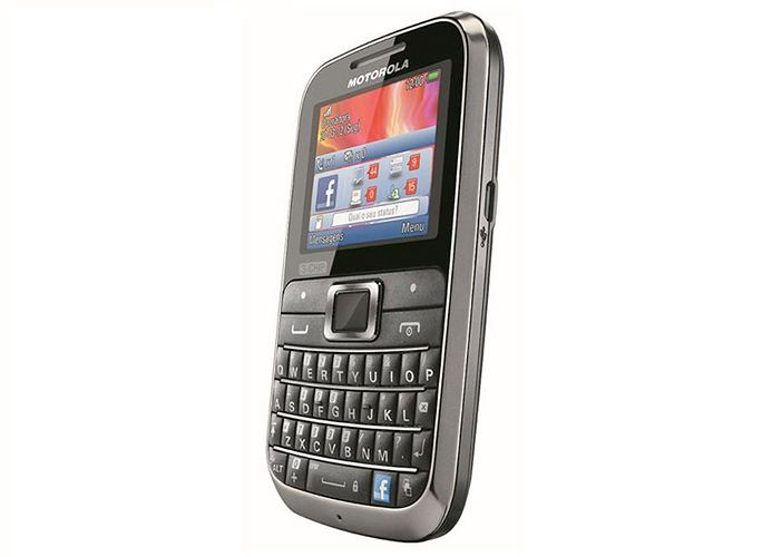 Motorola i telefon Motokey 3-Chip obsługujący 3 karty SIM