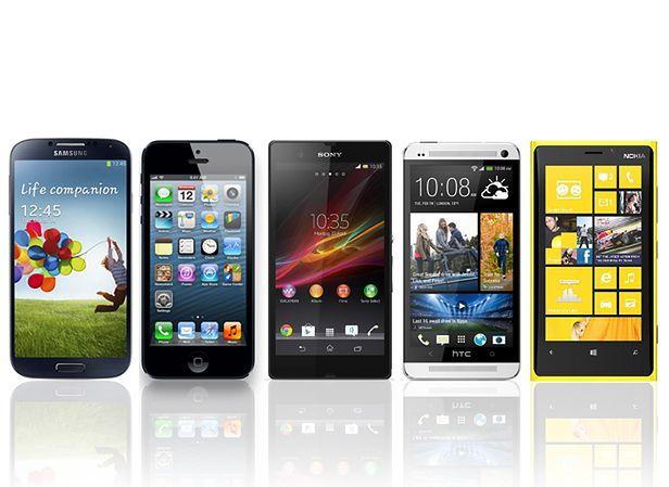 Najnowsze flagowe smartfony