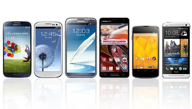 Najpopularniejsze smartfony z Androidem