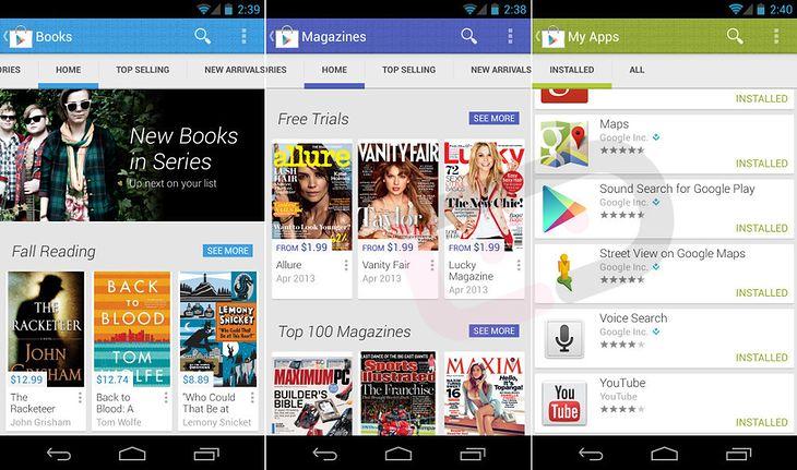 Google Play 4.0 (fot. droid-life.com)