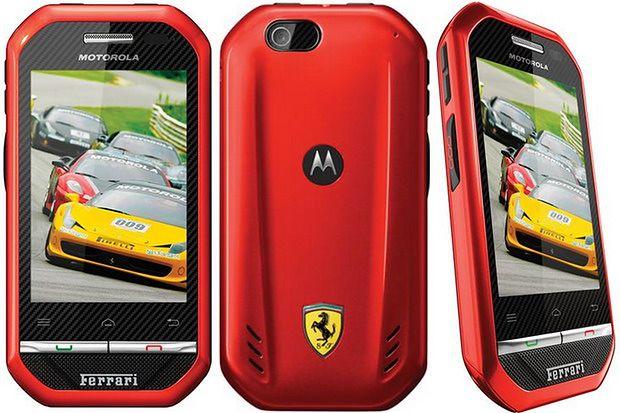 Motorola i867 Ferrari