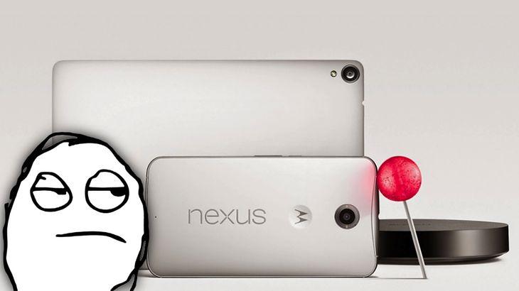 Nexus 6, Nexus 9 i Nexus Player