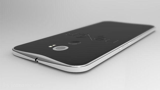 Nexus 6 - wizualizacja Jermaine'a Smita