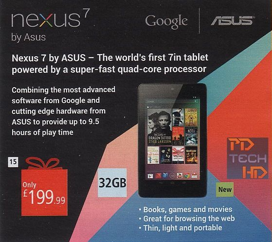 Nexus 7 32 GB   fot. theverge.com