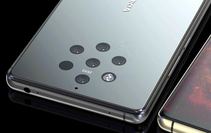 Nokia 9 PureView - wizualizacja bazująca na przeciekach