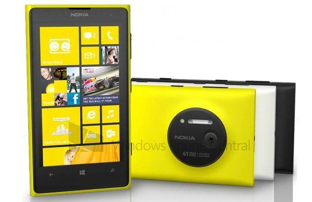 Nokia Lumia 1020 (fot. wpcentral)