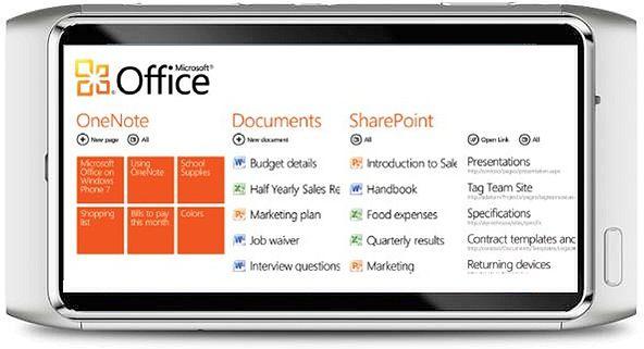 Microsoft Office dla smartfonów Nokia