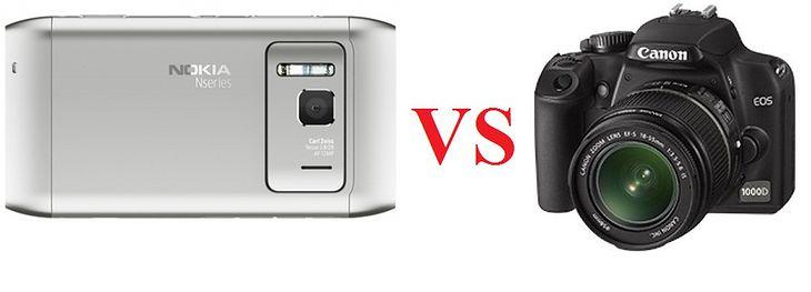 Nokia N8 vs lustrzanka Canona
