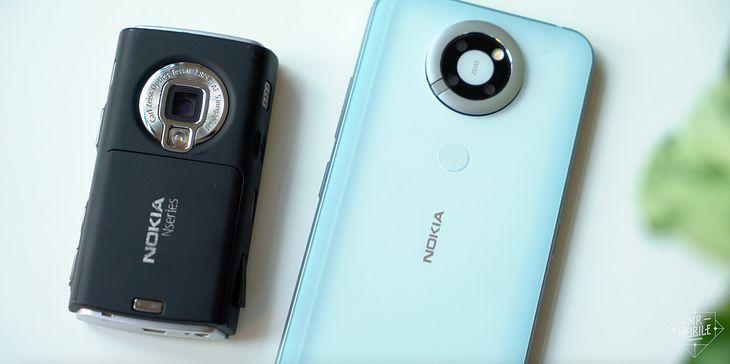 Nokia N95 i jej młodsza, niedokończona siostra
