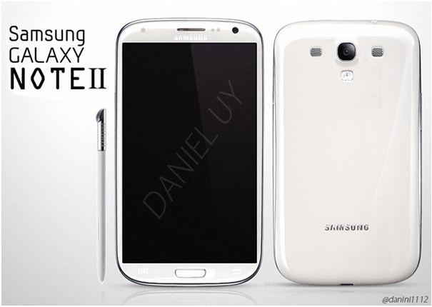 Samsung Galaxy Note II   fot. sammobile.com
