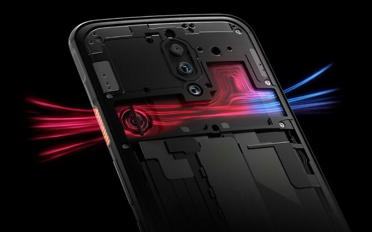 Image result for Nubia presents the first mobile phone with a 144 Hz screen, the Nubia Red Magic 5G