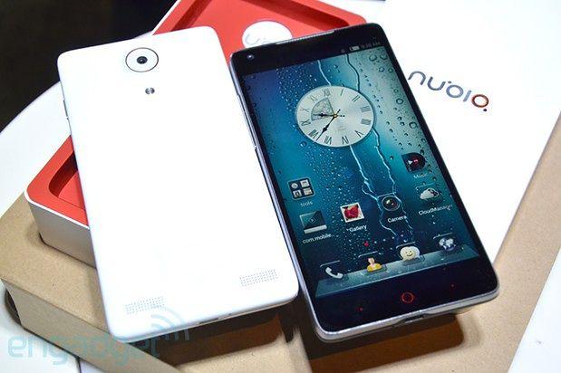Nubia Z5 (fot. engadget.com)