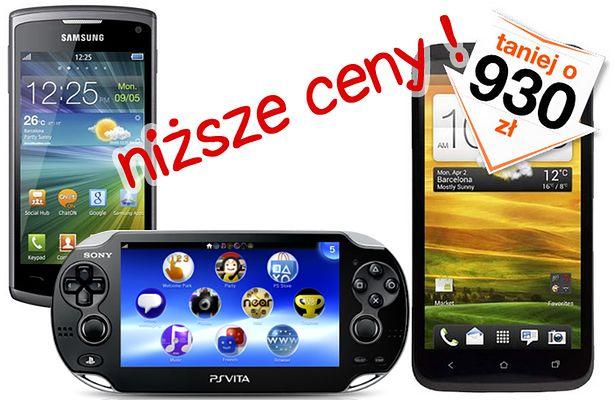 Obniżki cen smartfonów i modemów (fot.: Orange; Play)