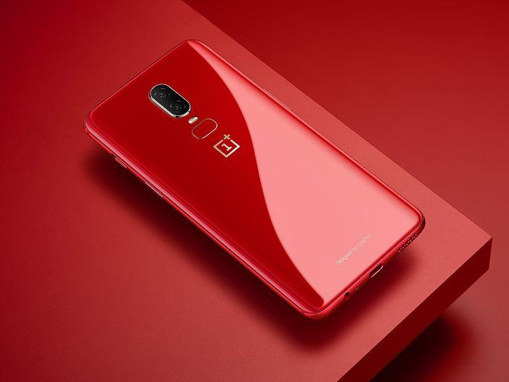 OnePlus 6 teraz także w czerwonej wersji