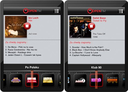 OpenFM iPhone