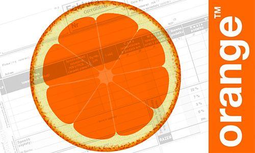 E-faktura i ekofaktura w Orange