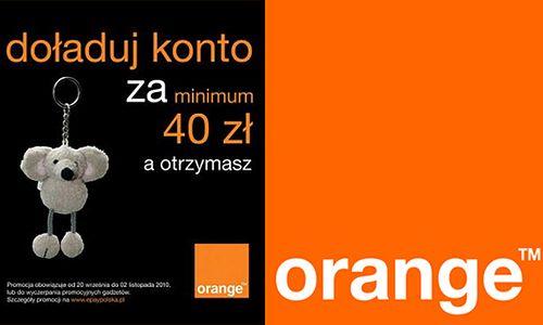 orange - myszka