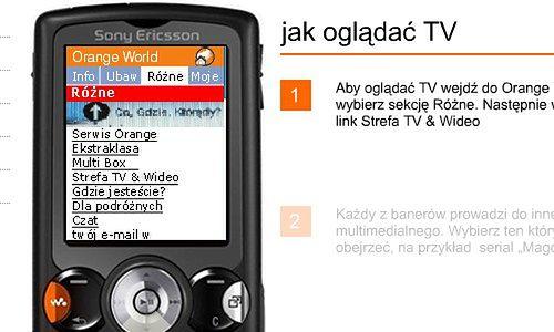 Weekendy z Orange - tym razem z mobilną telewizją