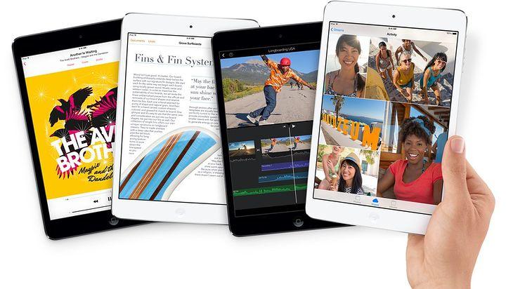 iPad mini z wyświetlaczem Retina