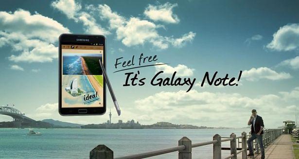 Samsung Galaxy Note | fot. youtube.com