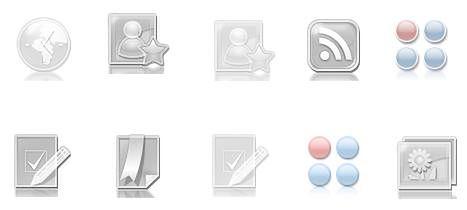 Wymiana ikon w menu Sony Ericssona.