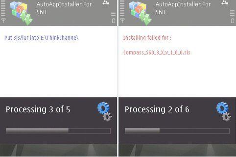 Symbian: Instalacja wielu programów jednocześnie.