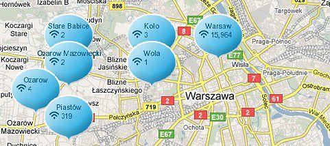 We-Fi - szukanie hotspotów Wi-Fi, Symbian, Windows Mobile.