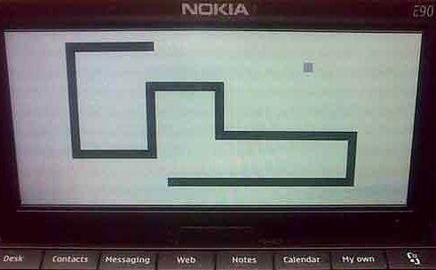 Snake, Wąż - nowa wersja gry.