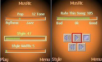 MusAic - generator muzyki.