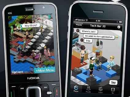 Bobba - Second Life dla telefonów komórkowych.