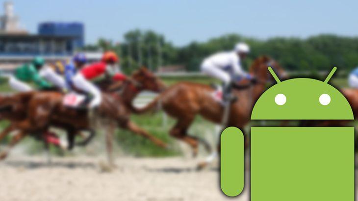 Zmodyfikowane zdjęcie: Horse race