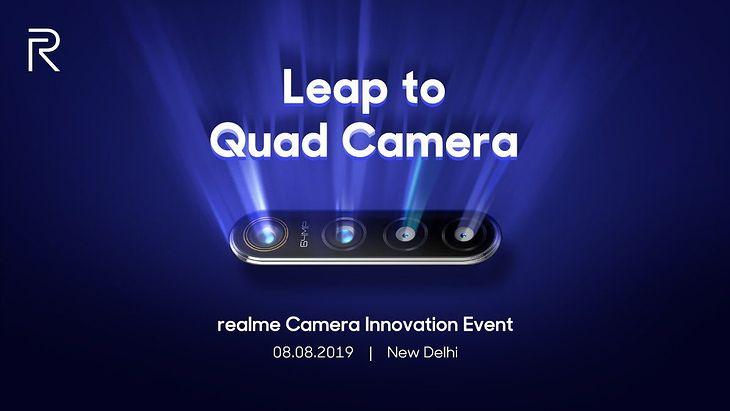 Marka Realme zapowiada nowość z aparatem 64 Mpix