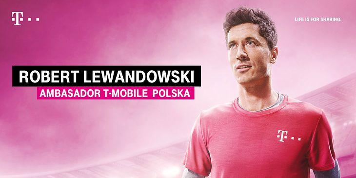 Rober Lewandowski nowym ambasadorem T-Mobile Polska