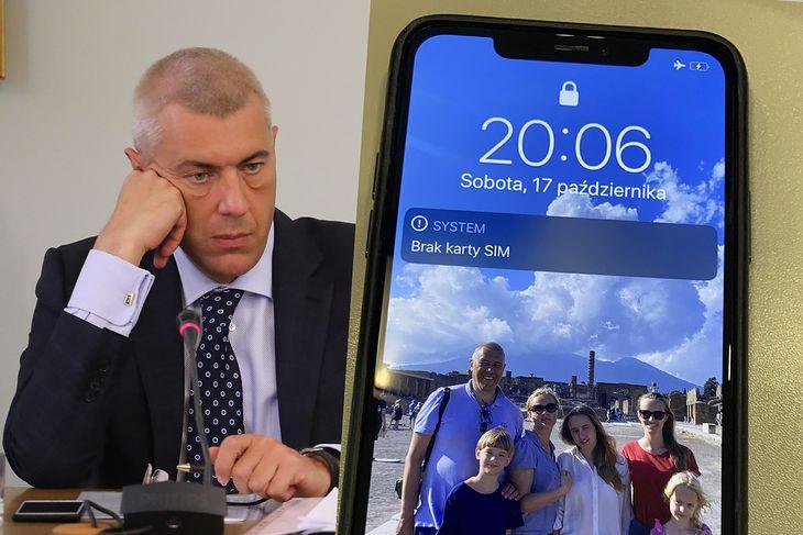 iPhone Romana Giertycha okazał się skutecznie zabezpieczony