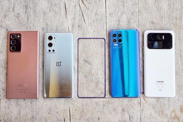 Samsung Galaxy Note 20 Ultra, OnePlus 9 Pro, Motorola G100 y Xiaomi Mi 11 Ultra